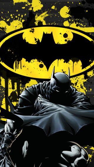 Обои на телефон бэтмен, batlogo