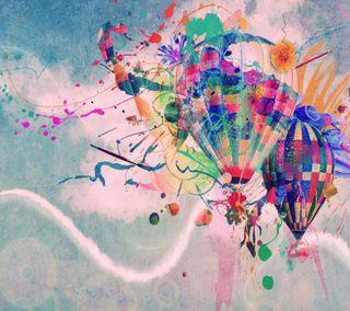 Обои на телефон шары, последние, прекрасные, красочные, дизайн, hd, airballoonsnew, air balloons hd, 3д, 3d, 2013