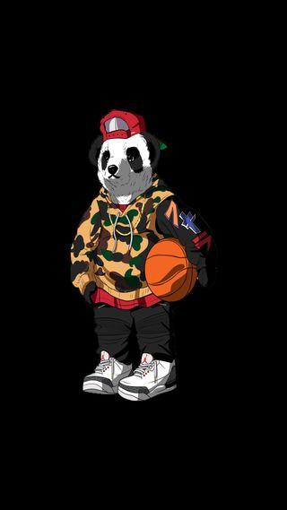 Обои на телефон худи, бейп, панда, новый, капюшон, камуфляж, гангста, baller, 929