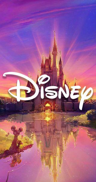 Обои на телефон принцесса, сверкающие, микки, маус, дисней, герои, peliculas, micky mouse, disney, castillo