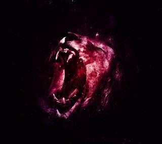 Обои на телефон фиолетовые, туманность, лев, красые, космос, звезда, железный, галактика, вселенная, sreefu, iron lion zion, galaxy