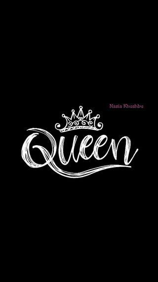 Обои на телефон смайлы, я, цитата, реал, отряд, лента, корона, королева, queen wallpaper