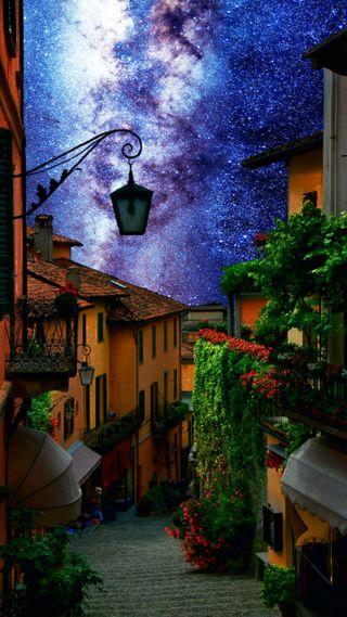 Обои на телефон путь, фантазия, улица, прекрасные, италия