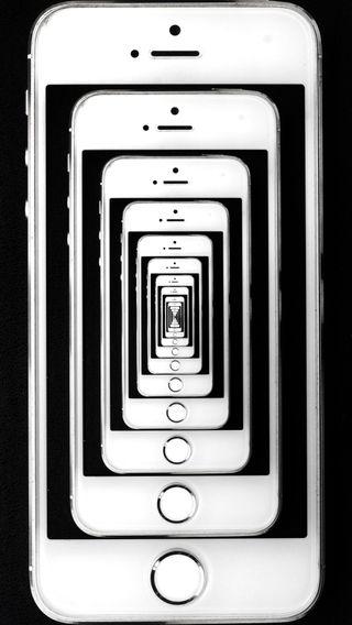 Обои на телефон иллюзии, экран, блокировка, айфон, абстрактные, iphone se, iphone 5s, iphone, illusion iphone 5s