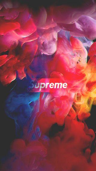 Обои на телефон цветные, радуга, красые, красочные, бренды, белые, supreme wallpaper, supreme, branded