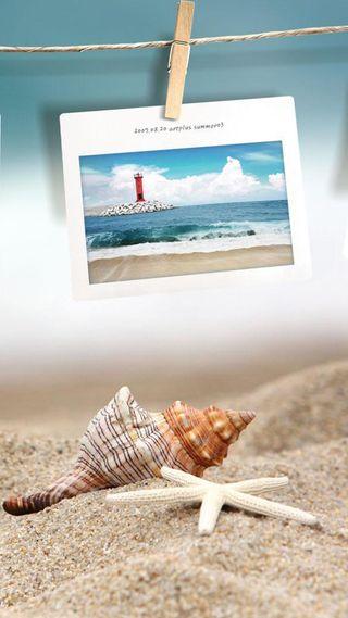 Обои на телефон фото, пляж