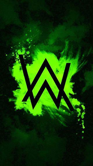 Обои на телефон фотографии, ультра, темные, прекрасные, зеленые, арт, алан, walker, aw, art