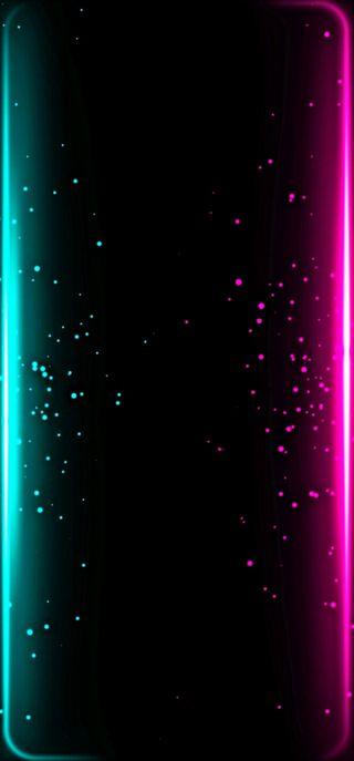 Обои на телефон цвета, фиолетовые, самсунг, пузыри, луна, звезды, звезда, блестящие, samsung s21, 2020
