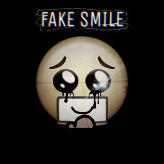 Обои на телефон депрессивные, смайлики, грустные, fake smile