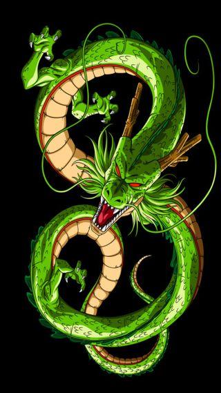 Обои на телефон драгонболл, дракон, аниме, shenlong, dragon
