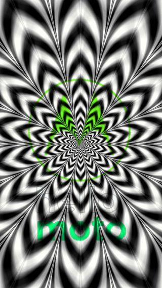 Обои на телефон изображения, черные, цифровое, моторола, красочные, иллюзии, грани, белые, motorola, illusions, hd