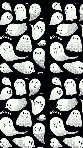 Обои на телефон хэллоуин, призрак, бу