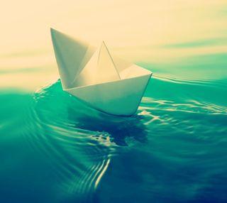Обои на телефон бумага, лодки, paper boat, fddx