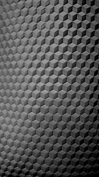 Обои на телефон ткани, шаблон, фото, текстуры, серые, простые, минимализм, куб, крутые, абстрактные, thiira cube pattern, hd, 3д, 3d