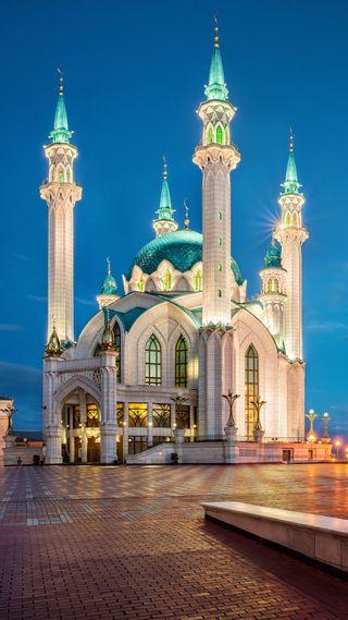 Обои на телефон изображения, флаг, стамбул, мечеть, sultan