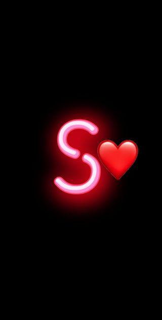Обои на телефон легенды, черные, цитата, символ, розовые, простые, неоновые, любовь, лига, буквы, бесконечность, s letter, love, infinity