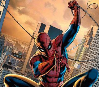 Обои на телефон человек паук, паук, мультфильмы, мультики, spider man, cartoon - spiderman