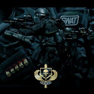 Обои на телефон полиция, черные, swat