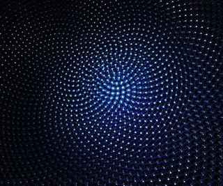 Обои на телефон эффект, компьютер, синие, рабочий стол, пузыри, линии, optical, 3д, 3d