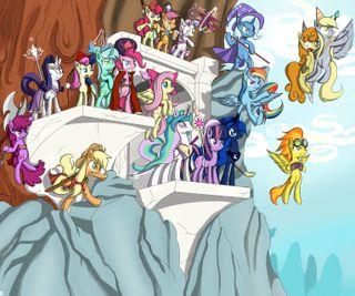 Обои на телефон пони, мой, маленький, магия, дружба, tales of equestria, mlp