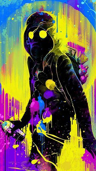 Обои на телефон рисунки, граффити