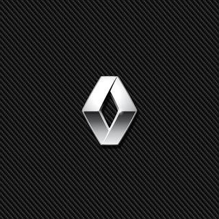 Обои на телефон эмблемы, логотипы, карбон, значок, renault carbon, renault