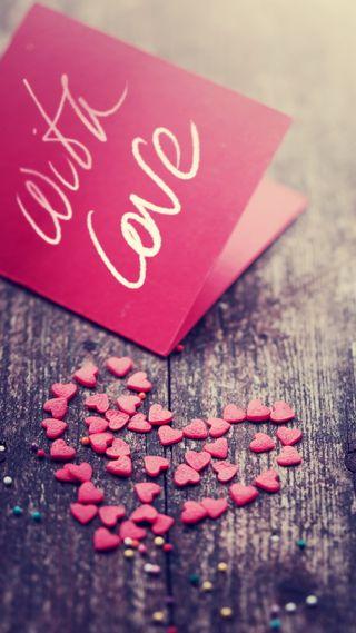 Обои на телефон деревянные, сердце, романтика, любовь, красые, валентинка, note, love