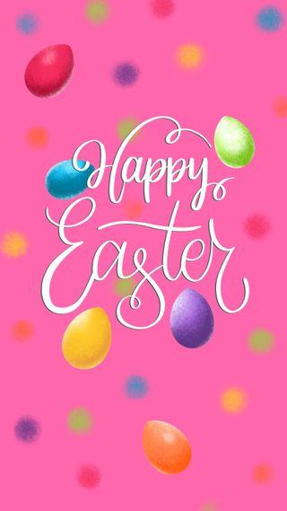 Обои на телефон празднование, яйца, цитата, цветные, текст, счастливые, слова, розовые, радуга, праздник, пасхальные, милые, красочные, kor4@rts, happy easter quote, happy, Happy, Easter