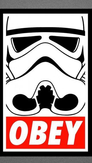 Обои на телефон obey, gfd