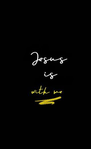 Обои на телефон позитивные, я, цитата, христианские, любовь, исус, верить, вера, бог, love, jesus is with me