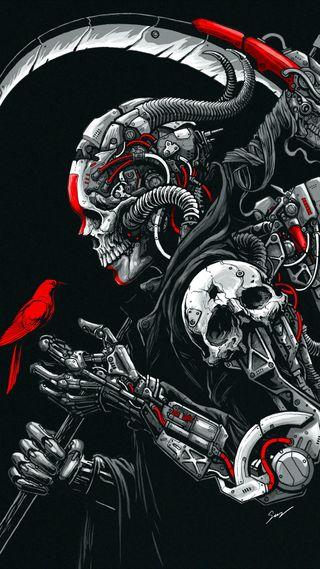 Обои на телефон череп, фиолетовые, фантазия, смерть, машина, любовь, дракон, девушки, ведьма, ultimate, love, dragon, death machine