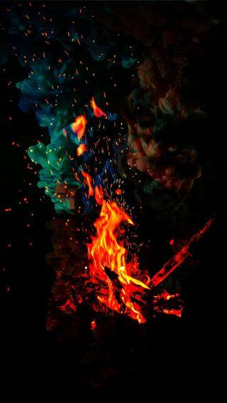 Обои на телефон knuckles, no, smoke fire, абстрактные, черные, красые, огонь, дым, готические, шторм, молния, дракон, релаксация