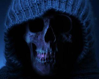 Обои на телефон готические, череп, темные, смерть, зима