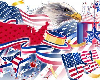 Обои на телефон американские, флаг, сша, орел, usa, american eagle