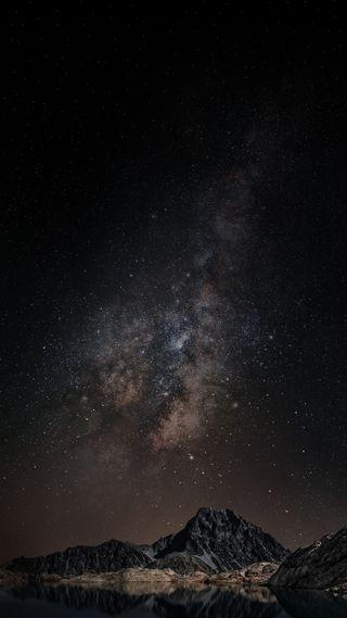 Обои на телефон оригинальные, темные, телефон, ночь, космос, звезды, dark space