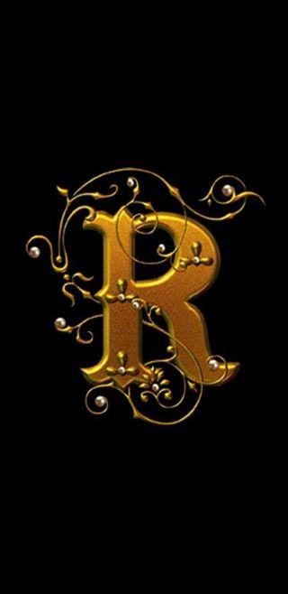 Обои на телефон черные, золотые, буквы, royal