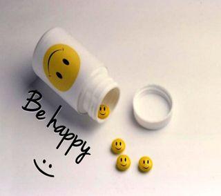 Обои на телефон будь, счастливые, смайлики, приятные, новый, крутые, забавные, бутылка, smilies, pills, happy