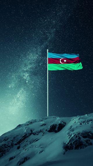 Обои на телефон флаги, флаг, турецкие, азербайджан, flag of azerbaijan, bsyraq, azerbaycan