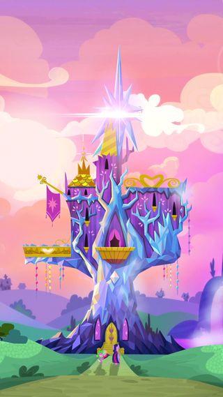 Обои на телефон сумерки, сверкающие, принцесса, пони, мой, маленький, замок, дружба, twilight sparkle, mlp, castle of friendship