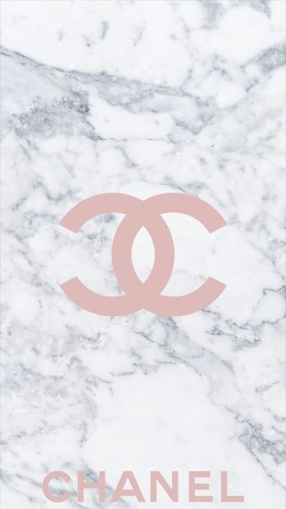 Обои на телефон мрамор, розовые, логотипы, бренды, marble affect, chanel