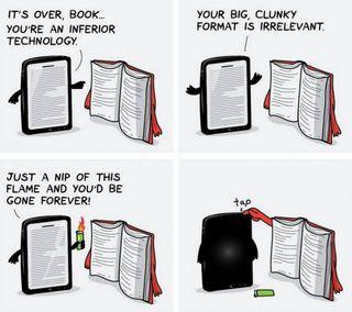 Обои на телефон технологии, старые, против, книги, книга, забавные, tab, conversation, books vs tab