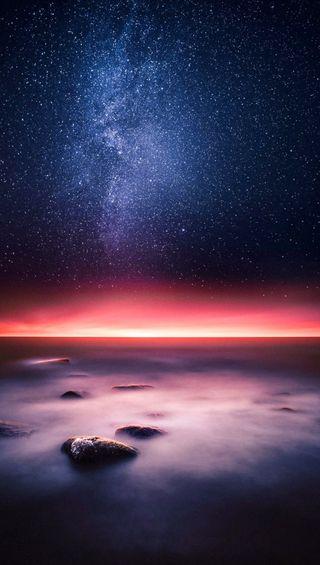 Обои на телефон рок, космос, небо, красые, horrizon