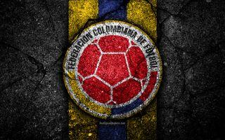 Обои на телефон логотипы, футбол, футбольные, команда, эмблемы, колумбия, национальная