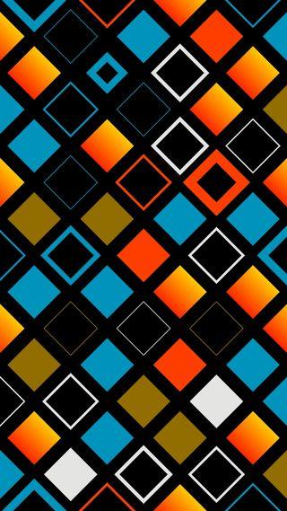 Обои на телефон квадраты, цветные, ретро, дизайн, арт, абстрактные, art