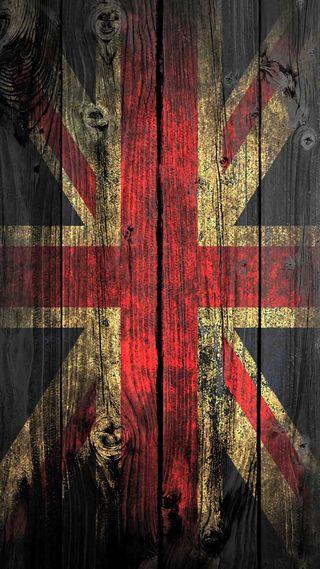Обои на телефон флаг, лондон