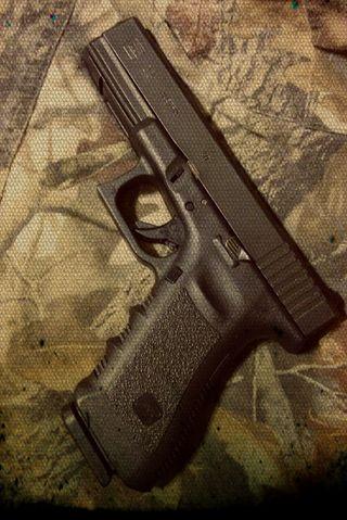 Обои на телефон пистолет, камуфляж, оружие, глок, redneck, glock 22, bullet