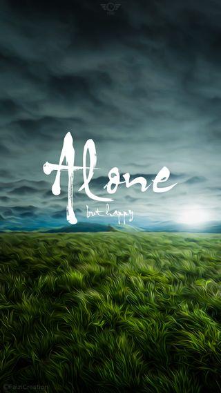 Обои на телефон релакс, христианские, счастливые, одиночество, одинокий, любовь, love, happy, faizicreation, but, alone but happy
