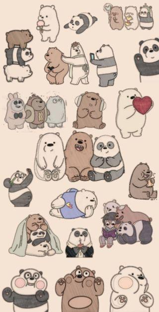 Обои на телефон хэллоуин, мультфильмы, медведи, вся правда о медведях, osos, fondo, escandalosos 4