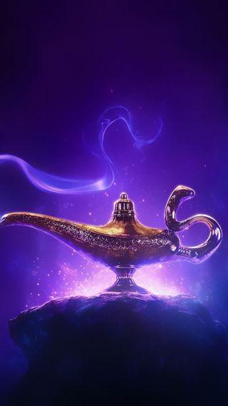 Обои на телефон хвост, сказочные, магия, дисней, willsmith, jasmine, genie, disney aladdin 2019, disney, aladdin