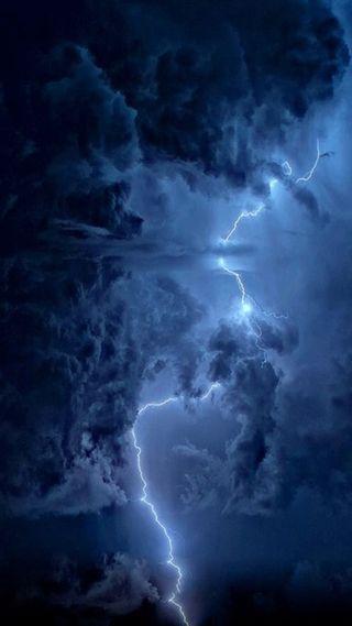 Обои на телефон шторм, природа